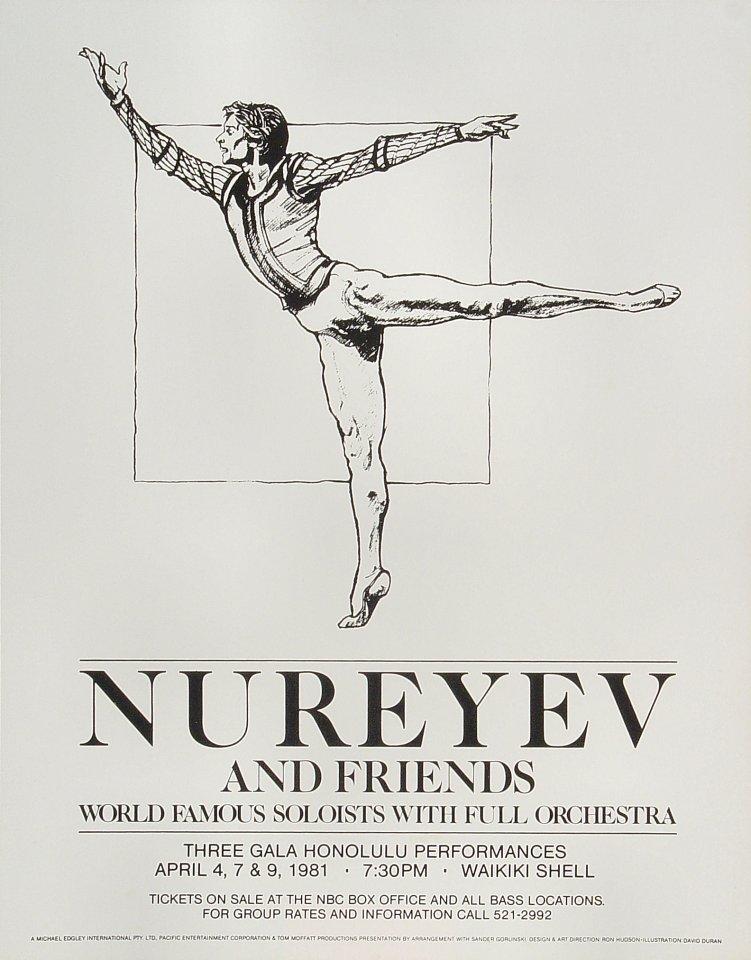 Nureyev Handbill