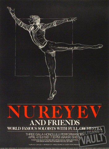 Nureyev Poster