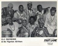 O.J. Ekemode & The Nigerian All-Stars Promo Print