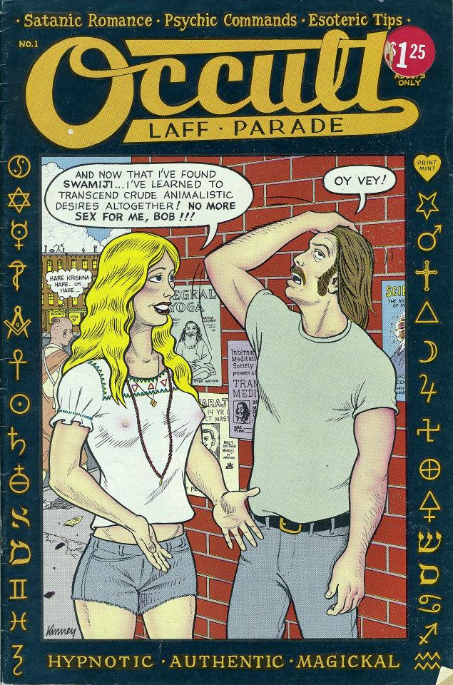 Occult Laff-Parade No. 1 Comic Book