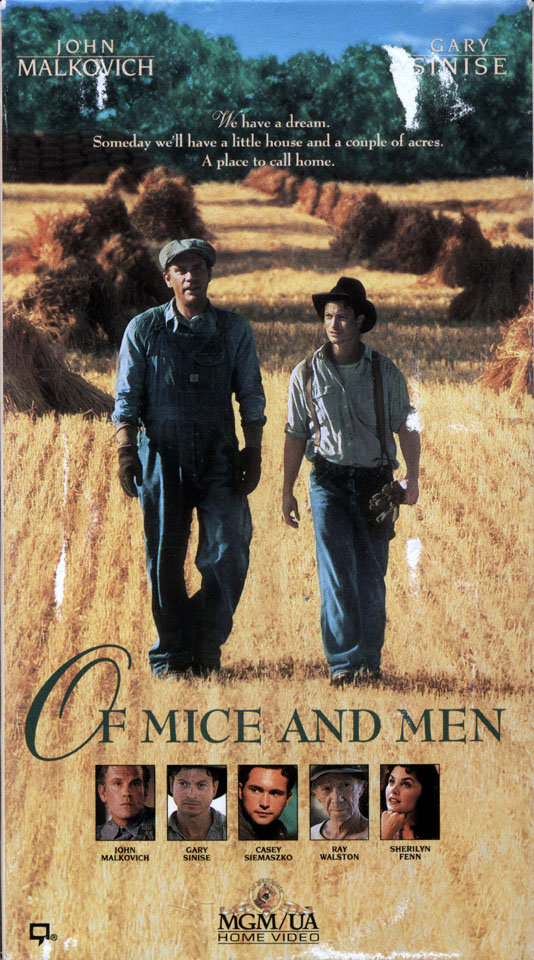 the death of lennie in john steinbecks of mice and men Of mice and men by john steinbeck concept analysis introduction/basic rationale easy and interesting to read, john steinbeck's of mice and men not only provides students with an intimate view of descriptive and poetic prose, but it also provides a portrait.