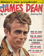 Official James Dean Anniversary Book Magazine