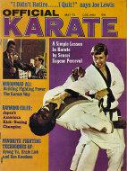 Official Karate Magazine May 1973 Magazine