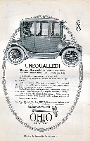 Ohio Electric Vintage Ad