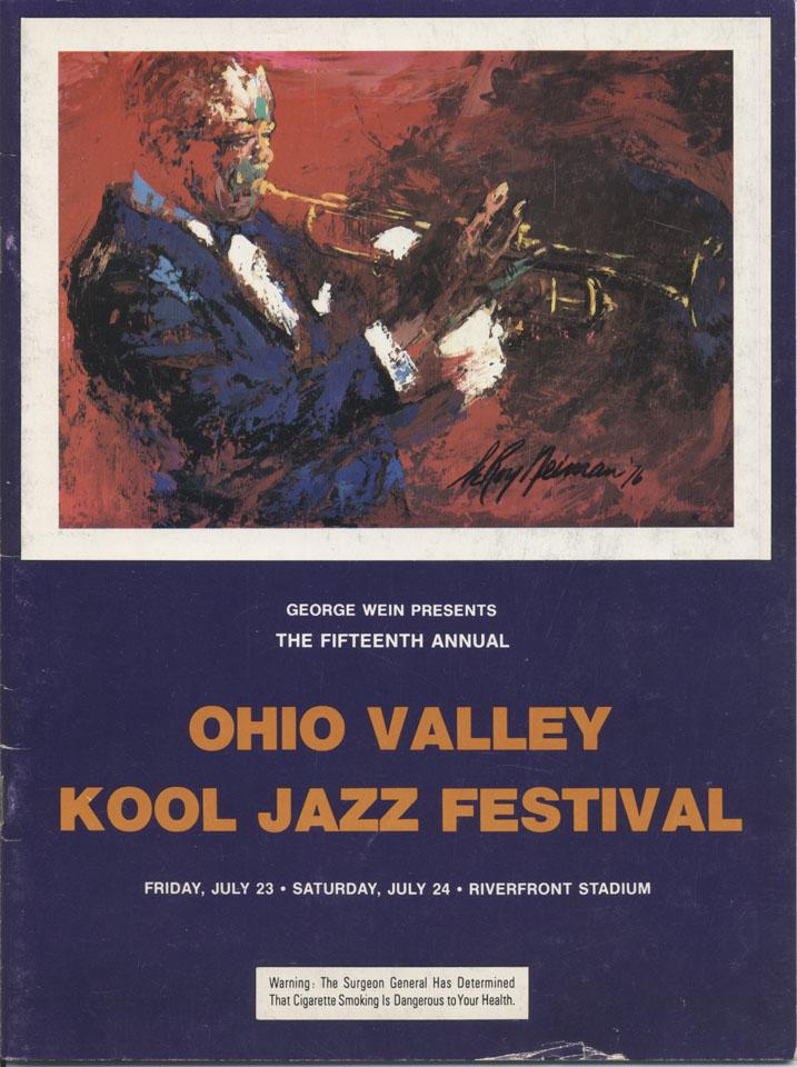 Ohio Valley Kool Jazz Festival Program