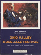 Ohio Valley Kool Jazz Festival Program
