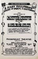 Oingo Boingo Poster