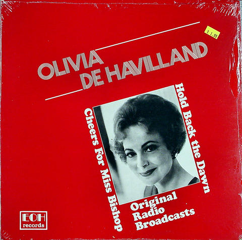"Olivia De Havilland Vinyl 12"" (New)"