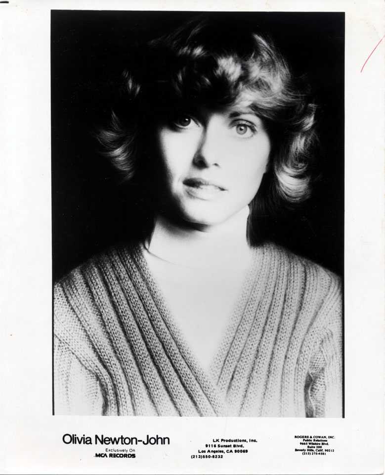 Olivia Newton-John Promo Print