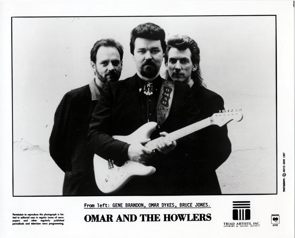 Omar & the Howlers Promo Print