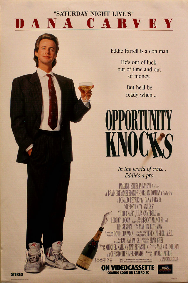 Opportunity Knocks Poster