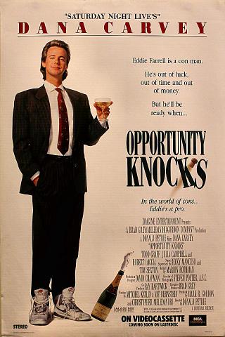 Opportunity Knocks Poster