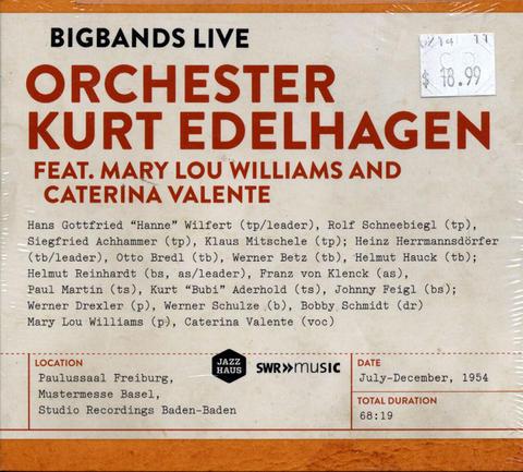 Orchester Kurt Edelhagen CD