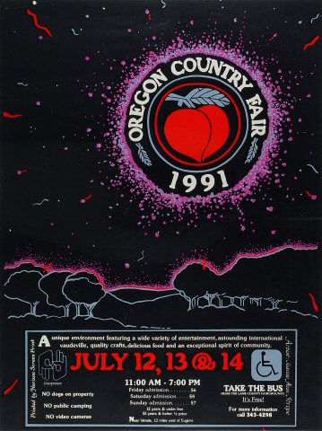 Oregon County Fair Poster