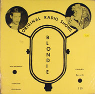 "Original Radio Shows / Blondie Vinyl 12"" (New)"