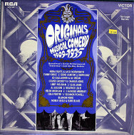 "Originals Musical Comedy 1909-1935 Vinyl 12"" (Used)"