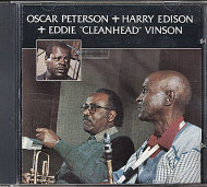 "Oscar Peterson + Harry Edison + Eddie ""Cleanhead"" Vinson CD"