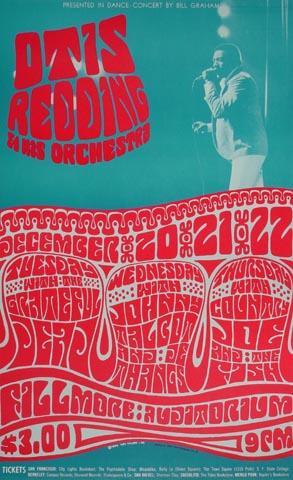 Otis Redding & His Orchestra Postcard