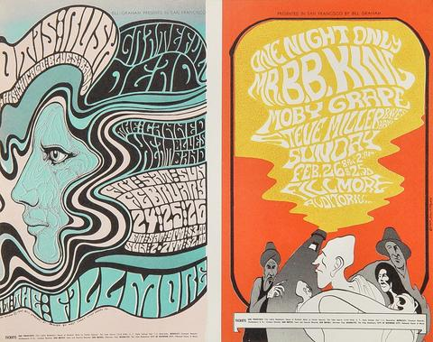 Otis Rush Chicago Blues Band Handbill