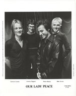 Our Lady Peace Promo Print