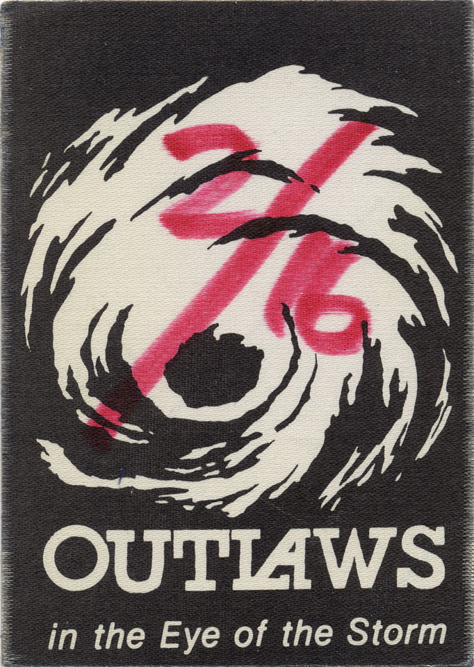 Outlaws Backstage Pass