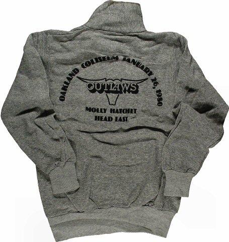 Outlaws Men's Vintage Sweatshirts reverse side