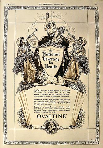 Ovaltine: The National Beverage For Health Vintage Ad