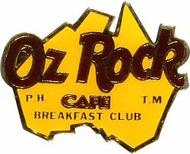 Oz Rock Café Pin