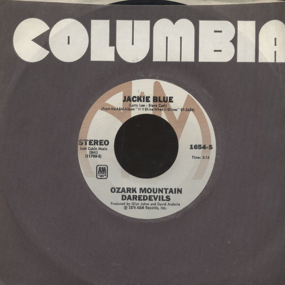"Ozark Mountain Daredevils Vinyl 7"" (Used)"