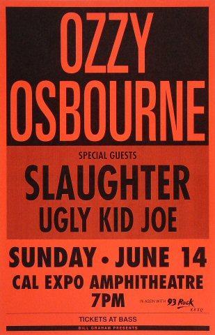 Ozzy Osbourne Poster
