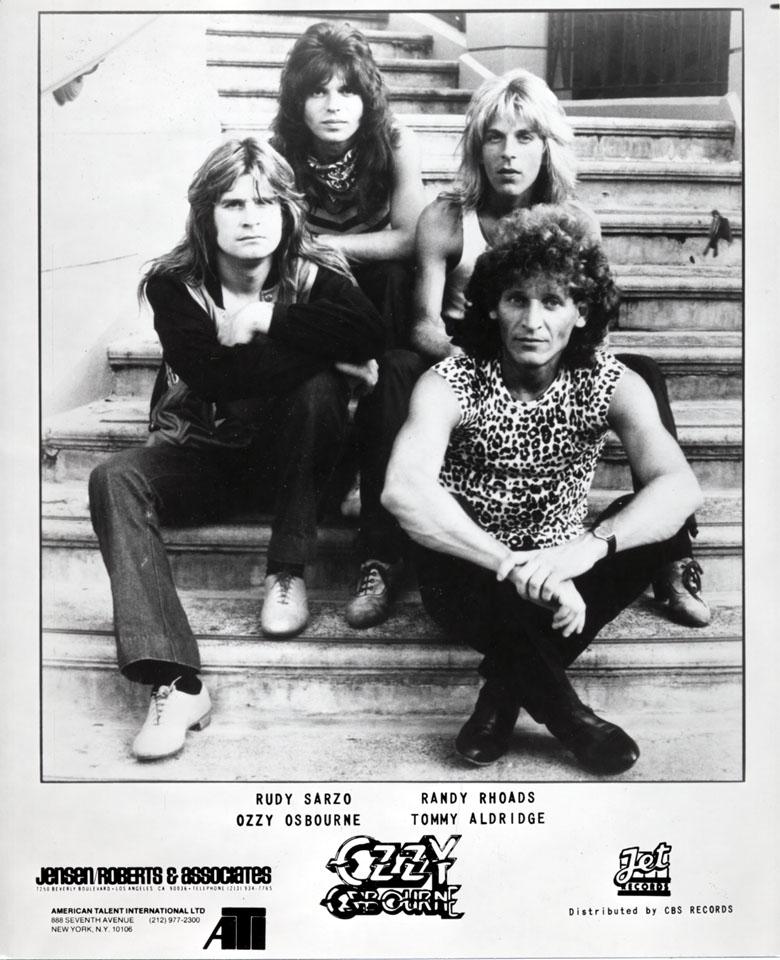 Ozzy Osbourne Promo Print