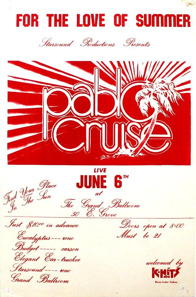 Pablo Cruise Poster
