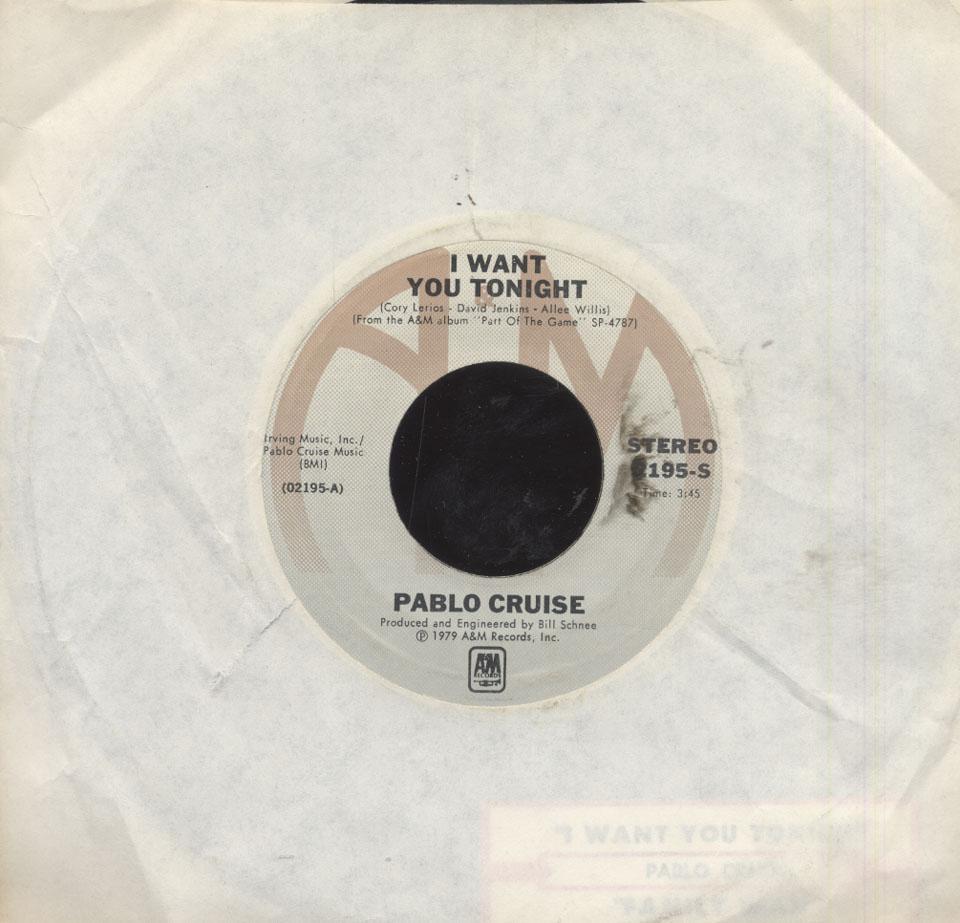 "Pablo Cruise Vinyl 7"" (Used)"