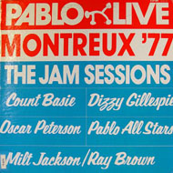 "Pablo Live: Montreux '77 / The Jam Sessions Vinyl 12"" (Used)"