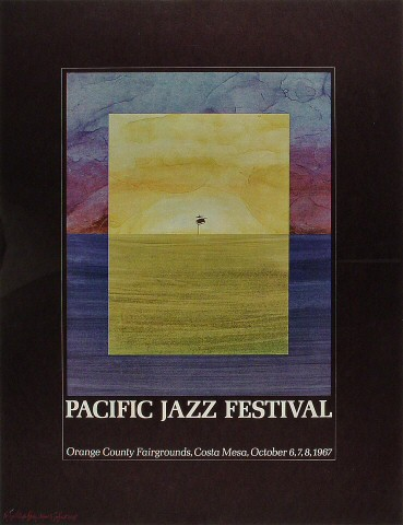 Pacific Jazz Festival Poster