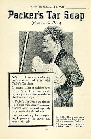 Packer's Tar Soap Vintage Ad