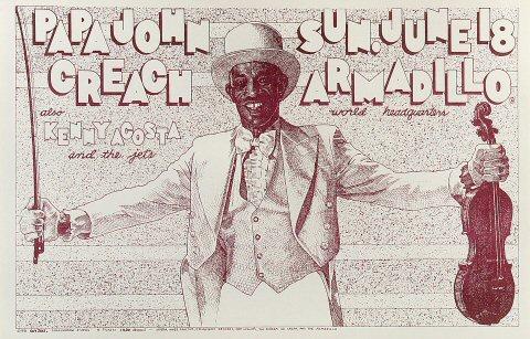 Papa John Creach Poster