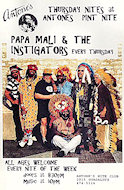 Papa Mali & the Instigators Poster