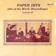 """Paper Hits (Hit Of The Week Recordings) Volume II Vinyl 12"""" (New)"""
