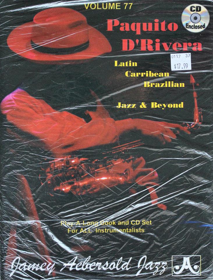Paquito D'Rivera Volume 77