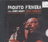 Paquito D'Rivera with James Moody CD