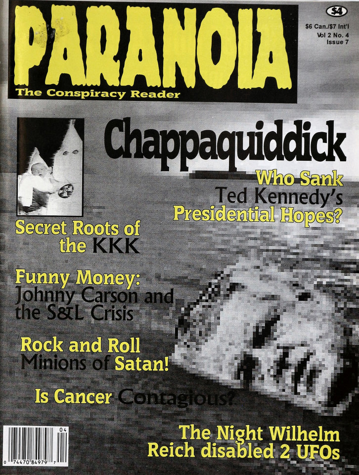 Paranoia Vol. 2 No. 4 Issue 7