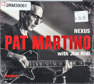 Pat Martino with Jim Ridl CD