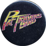 Pat Travers Band Pin