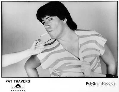 Pat Travers Promo Print