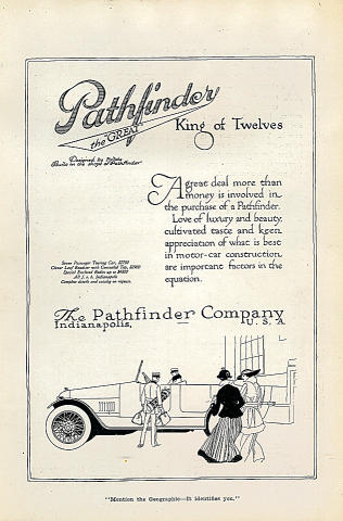 Pathfinder: King Of Twelves Vintage Ad