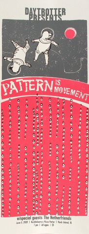 Pattern Is Movement Poster