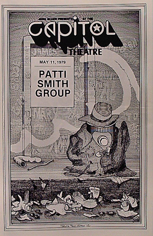 Patti Smith Group Program