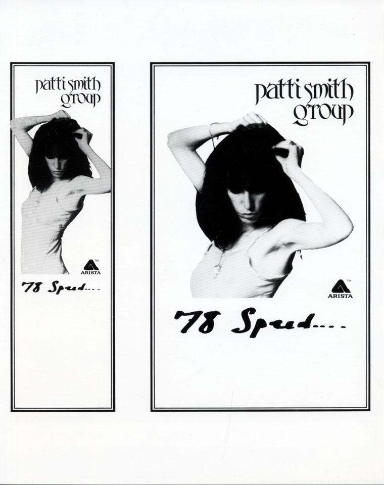Patti Smith Group Promo Print