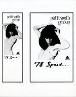 Patti Smith Group Promo Print